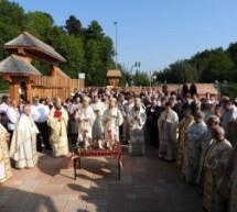 """IPS Andrei, la sfințirea bisericii românești """"Sfânta Maria"""" din München"""