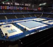 Sala polivalentă din Cluj Napoca, pregătită pentru CE de gimnastică