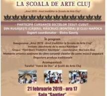 Şezătoare tradiţională la Şcoala de Arte Cluj
