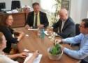 Reprezentanți ai Băncii Mondiale, în vizită de lucru la Consiliul Județean Cluj