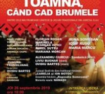 """,,Toamna, când cad brumele"""", spectacol de folclor, dedicat muzicii și jocului tradițional din județul Cluj"""