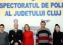 Cetățeni cu simț civic, felicitați de polițiștii clujeni