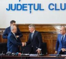 Acord de implementare a proiectului Electrificarea și reabilitarea liniei de cale ferată Cluj-Napoca – Oradea – Episcopia Bihor
