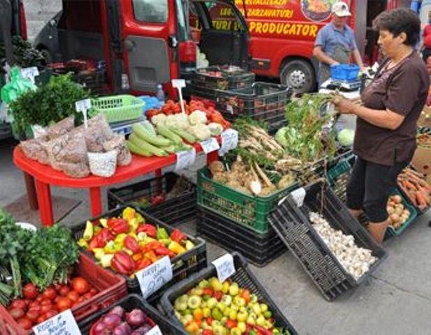 Piețele volante se redeschid la Cluj-Napoca
