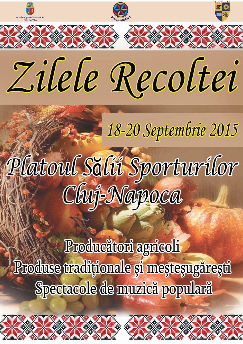 """""""Zilele Recoltei"""" la Cluj-Napoca (18-20 septembrie)"""