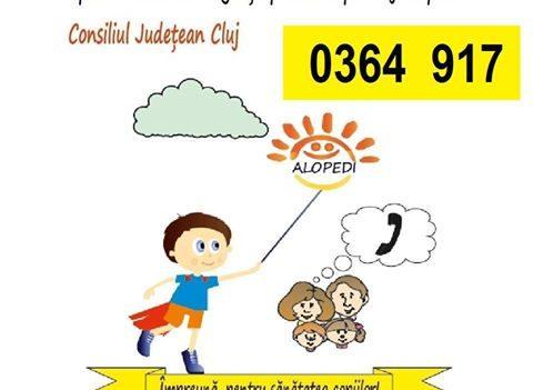 Cluj Napoca: Serviciul gratuit de telemedicină ALOPEDI 0364-917, din ce în ce mai apelat de părinți