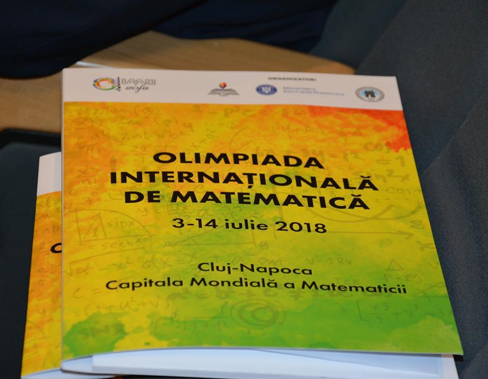 Bani de la Consiliului Județean pentru organizarea Olimpiadei Internaționale de Matematică de la Cluj-Napoca