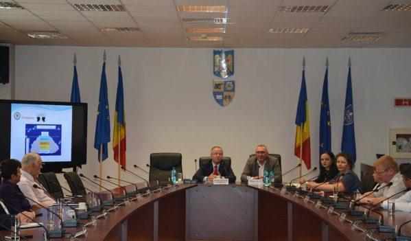 Consiliul Județean Cluj a găzduit conferința de prezentare a programelor Institutului Național de Administrație