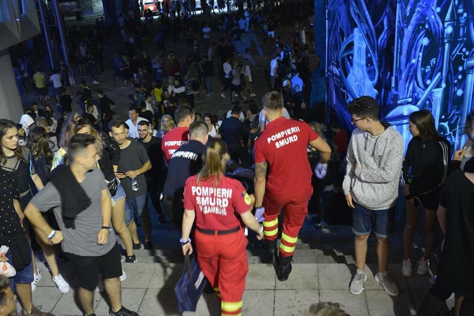 39 de tineri au ajuns la spital în timpul festivalului UNTOLD