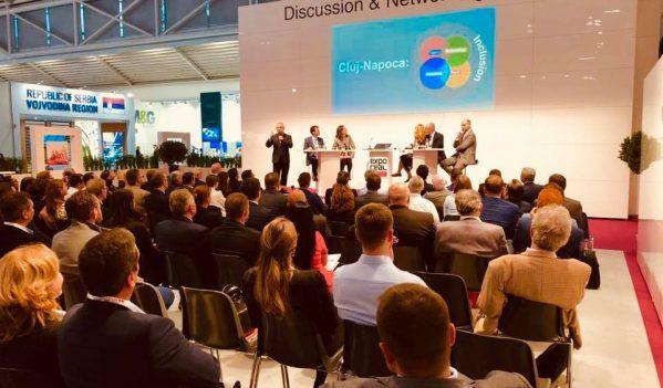 Oportunitățile de investiții ale Clujului, prezentate la Expo Real Munchen 2018