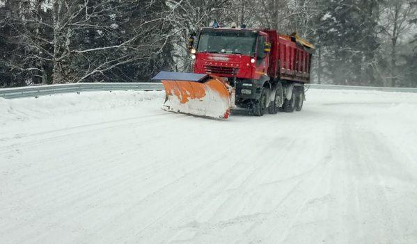 Consiliul Județean Cluj a aprobat Planul de intervenție pe drumurile județene, pentru sezonul de iarnă 2019-2020