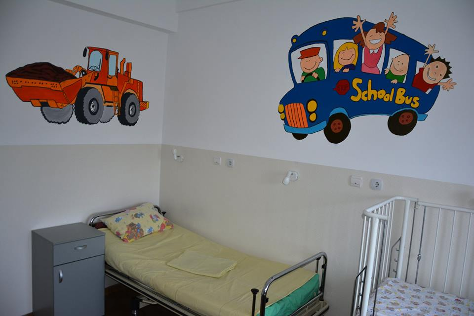 Secția de chirurgie și ortopedie pediatrică a Spitalului de Copii Cluj are o nouă înfățișare