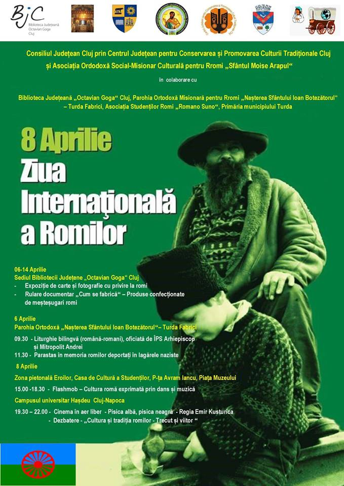 Manifestări dedicate zilei de 8 aprilie, Ziua Internațională a Romilor, în județul Cluj
