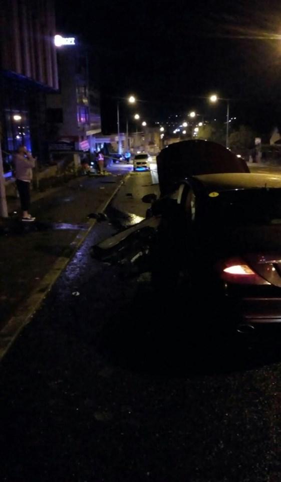 Un șofer clujean a avariat o conductă de gaz