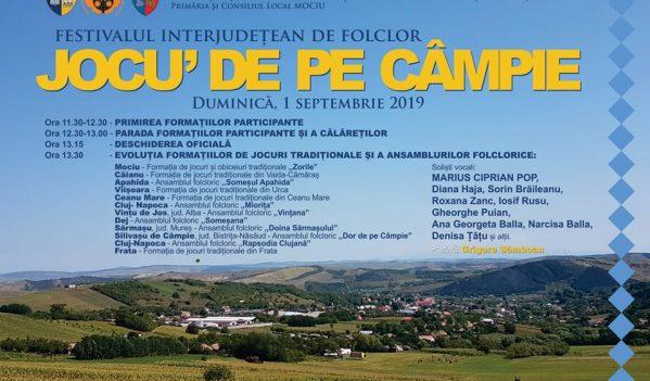 """Festivalul """"Jocu' de pe Câmpie"""" la Mociu"""