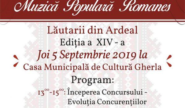 """Festivalul-concurs de muzică romanes """"Lăutarii ardeleni"""", la Gherla"""