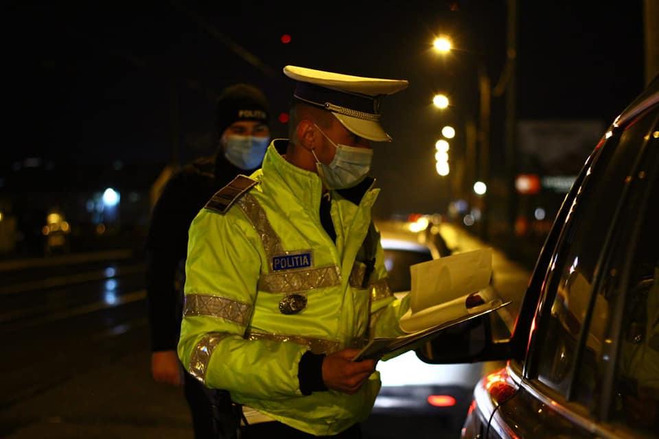 Prins de polițiștii clujeni circulând fără permis de polițiștii clujeni
