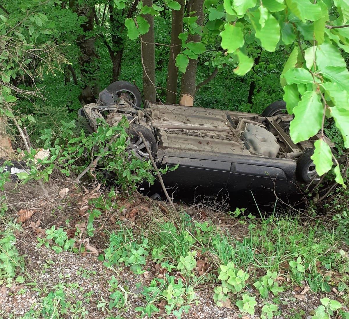 Accident produs în județul Cluj