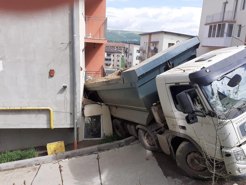 Accident mai rar întâlnit produs în Cluj-Napoca