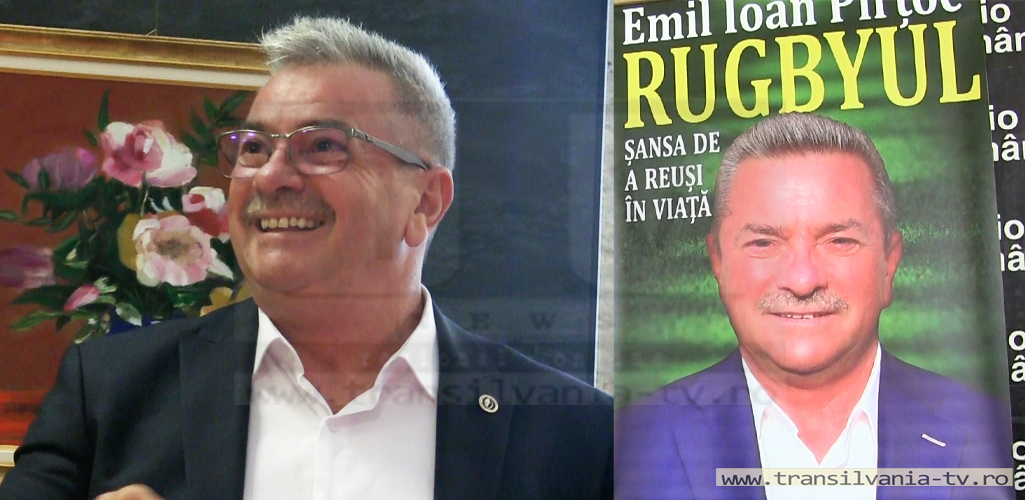Emil Pîrțoc, un om, o carte (VIDEO)