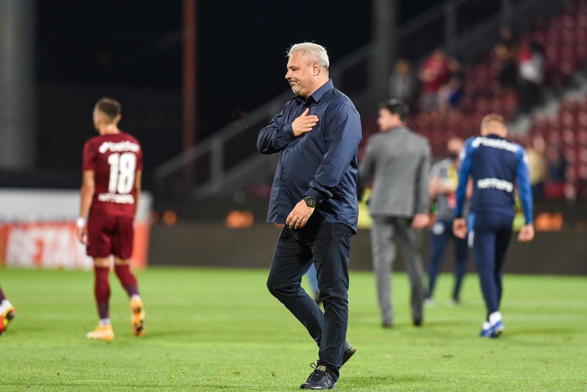 Marius Șumudică, reconfirmat în funcție de CFR Cluj