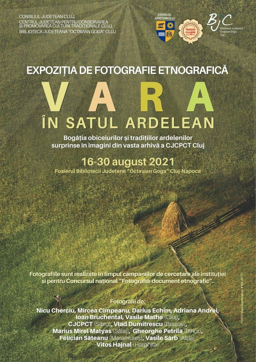 """Expoziție de fotografie etnografică """"Vara în satul ardelean"""""""